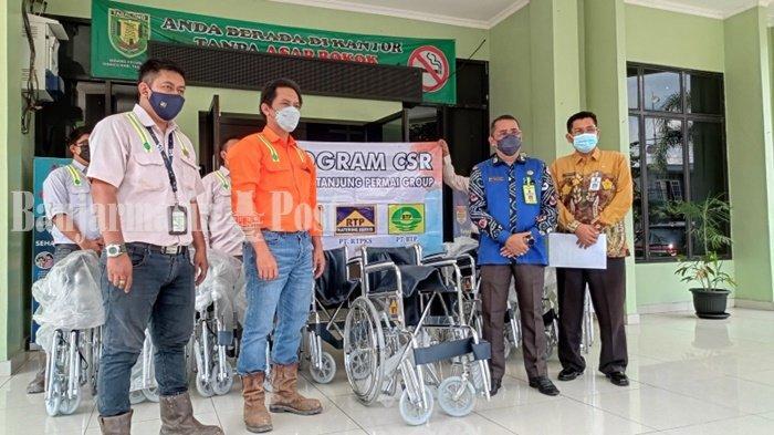 Dapat 10 Kursi Roda, Dinkes Kabupaten Tabalong akan Distribusikan ke Puskesmas