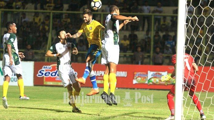 Jadwal Arema FC vs Barito Putera Liga 1 2018, Barito Jaga Asa ke Papan Atas Klasemen