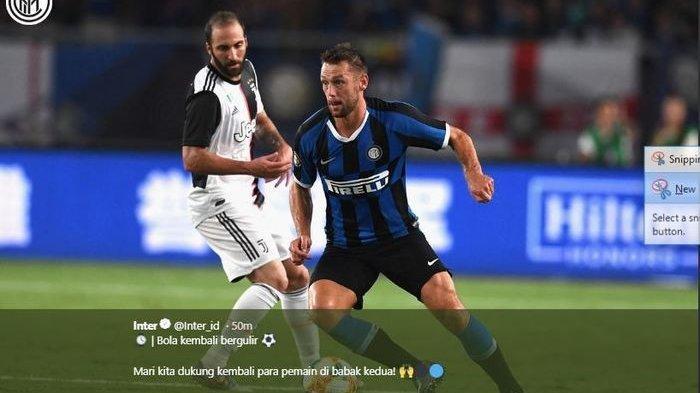 Juventus vs Inter Milan! Jadwal Liga Italia Live Streaming Bein Sports 2, Siaran Langsung RCTI?