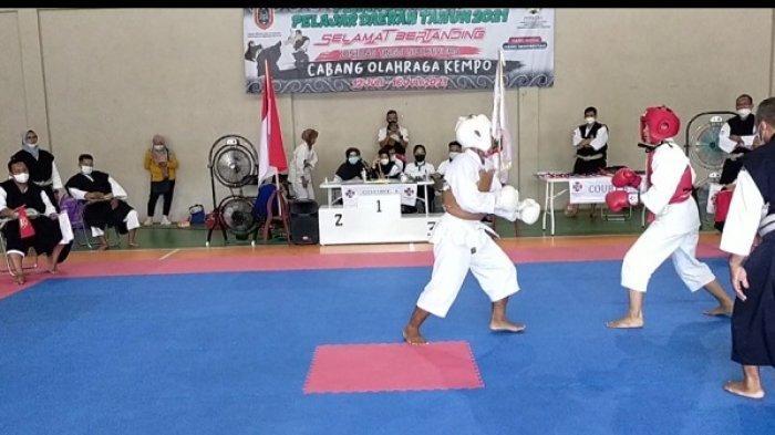 Popda Kalsel 2021, Kenshi Tala Mendominasi Perolehan Medali Cabor Kempo