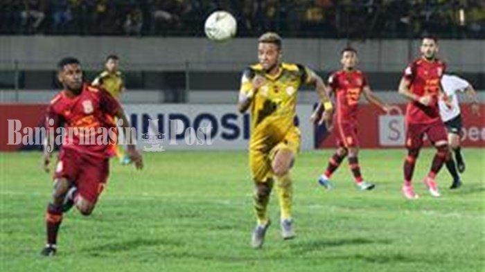 Hasil Barito Putera vs PSM Makassar di Liga 1 2019, Skor 2-0 di Babak Pertama, Gol Torres & Samsul