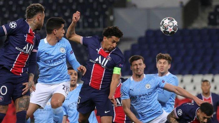 Prediksi Man City vs PSG & Link Live Streaming SCTV Liga Champions Malam Ini, Agregat 2-1