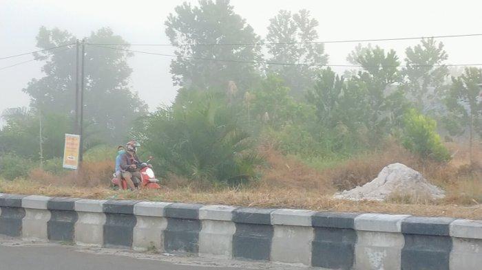 Bhabinkamtibmas Sosialisasikan Larangan Membakar Lahan di Palangkaraya