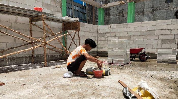 TPS Baru di Kawasan Jalan Veteran Pengganti TPS Pasar Kuripan Banjarmasin Hampir Dirampungkan