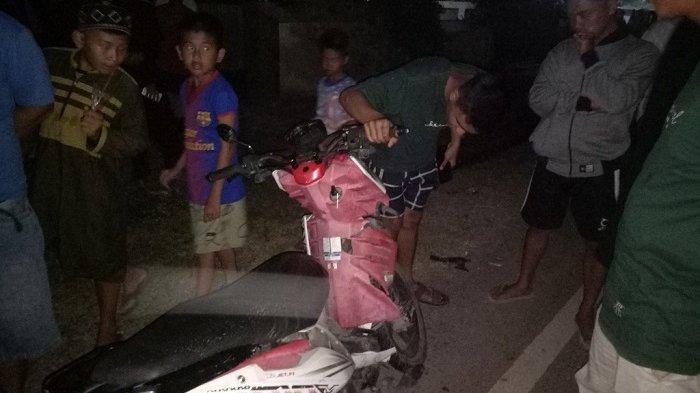 Tiga Orang Pengendara Terkapar Dalam Kecelakaan di Kotabaru, Simak Kronologis Kejadiannya