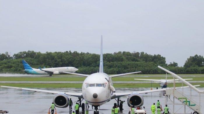 Libur Panjang, Lonjakan Penumpang Terjadi di Bandara SAMS Sepinggan Balikpapan