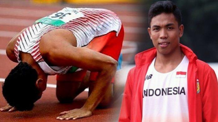Lalu Muhammad Zohri Bergabung dengan Relawan Palang Merah Indonesia Usai Asian Games 2018