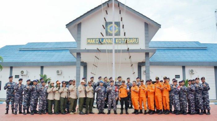 Lanal Kotabaru Adakan Latihan Penanggulangan Bencana, ini Alasannya