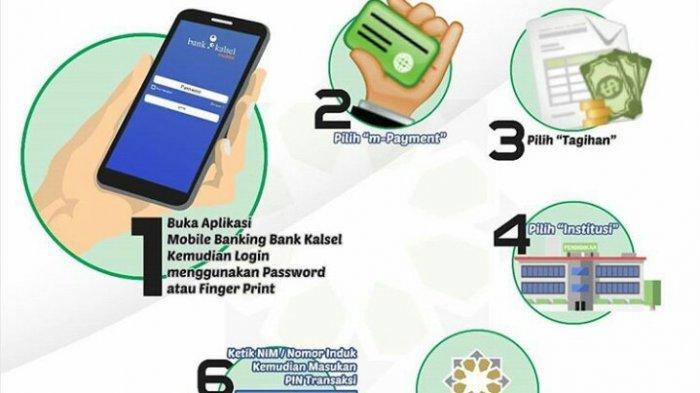 Bayar Biaya Pendidikan Bisa Via M-Banking Bank Kalsel, Berikut Caranya