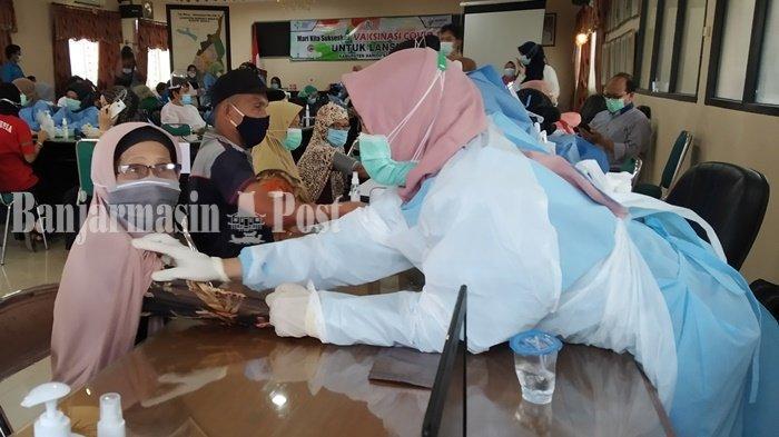 Stok Kosong, Vaksinasi Dosis Kedua di Kabupaten Batola Ditunda