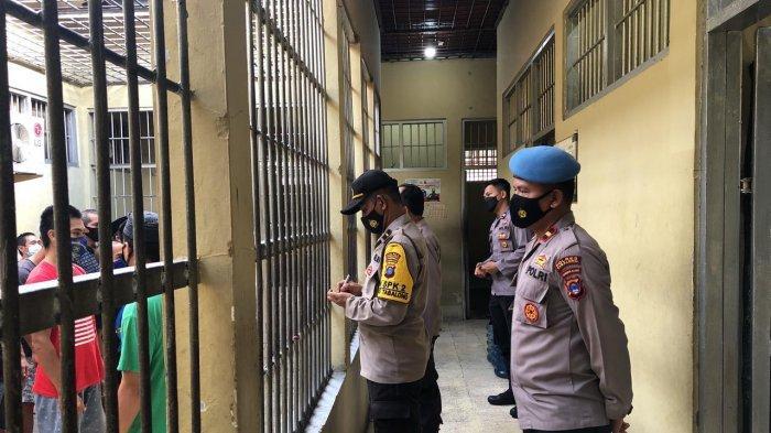 Siaga di Hari Libur, Polres Tabalong dan Polsek Jajaran Sidak Rumah Tahanan