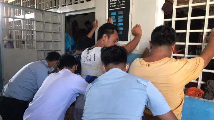 Lapas Tanjung Geledah Kamar Hunian dan Blok Warga Binaan, Temukan Barang Terlarang ini
