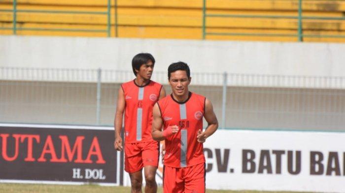 Pemain Martapura FC Kaharuddin Salam Jaga Fisik Sesuai Perintah Frans Sinatra Huwae