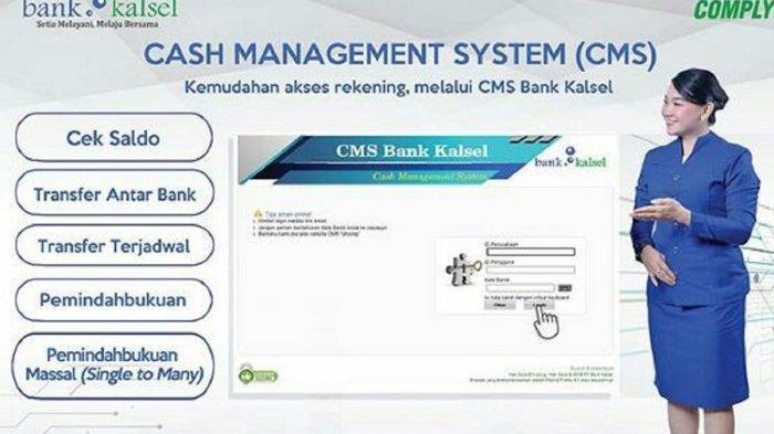 Bakeuda Kalsel Manfaatkan Program CMS untuk Transaksi Non Tunai