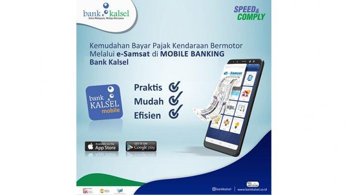 E-Samsat Bank Kalsel, Tak Lagi Khawatir Telat Bayar Pajak Kendaraan Bermotor