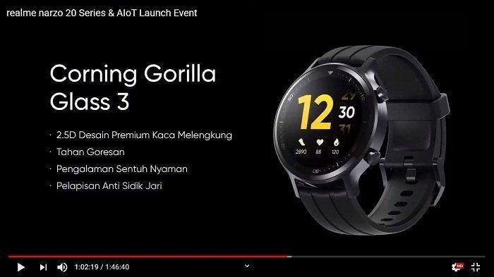 Realme Watch S Pro Resmi Meluncur 26 Januari, Bisa Monitor Detak Jantung dengan Akurat