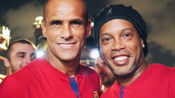 Link Nonton Streaming TV Online Barca TV Barcelona vs Real Madrid Legends, Rivaldo vs Carlos