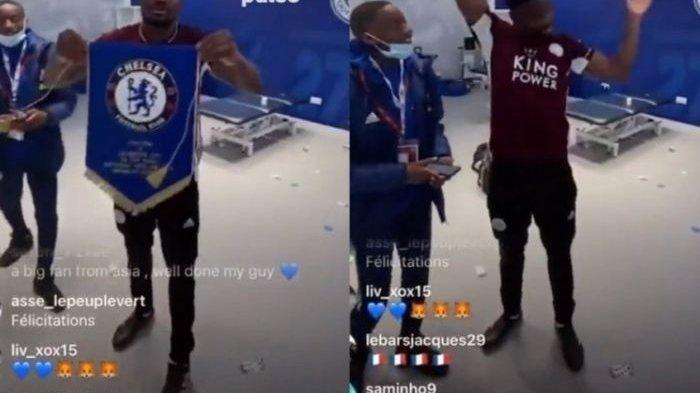 Logo Chelsea Dilecehkan Pemain Leicester Usai Laga Final Piala FA, Ini Sosok Pelaku Daniel Amartey