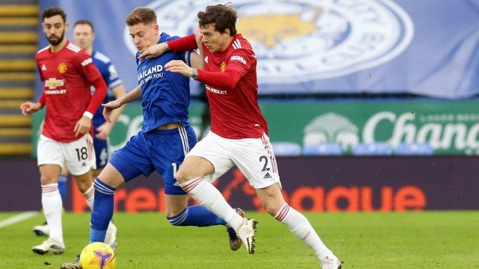 Skor 0-1! Link Streaming Leicester vs Man United Live TV ...