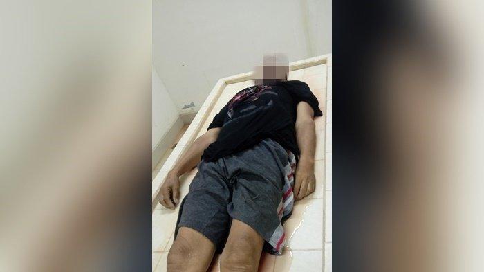 Lelaki Tak Beridentitas Tewas Tertabrak, Jenazah Masih di RSUD Ratu Zalecha Martapura