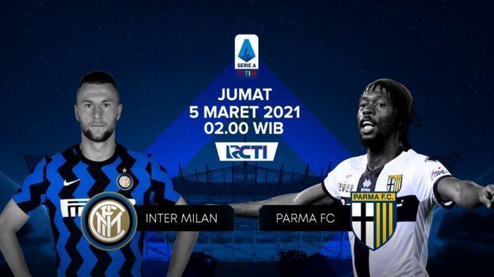 Jadwal Liga Italia Siaran Live RCTI Malam Ini Ada AC Milan vs Udinese, Parma vs Inter Besok