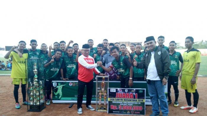Ponpes Al-Falah Banjarbaru Kampiun Liga Santri Nusantara 2018, Wakili Kalsel ke Tingkat Nasional