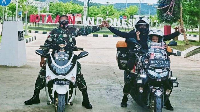 Lilik Gunawan dan Balda putranya yang berusia 5 (Lima) tahun baru saja menuntaskan misi Ride to East di awal tahun ini