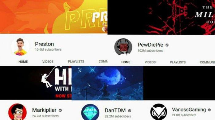 Mengelola Channel Game, Inilah 5 Youtuber Terkaya di Dunia, Penghasilan hingga Rp 364 Miliar