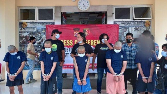 Kabur Usai Tembak Sopir Taksi Online, Kawanan Begal di Kabupaten Lebak Banten Dibekuk