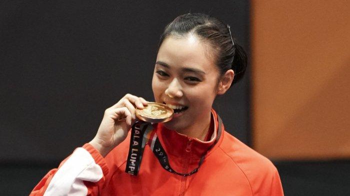 Peraih Emas Asian Games 2018 Pewushu Lindswell Kwok Menikah dengan Achmad Hulaefi, Orangtua Tenang?