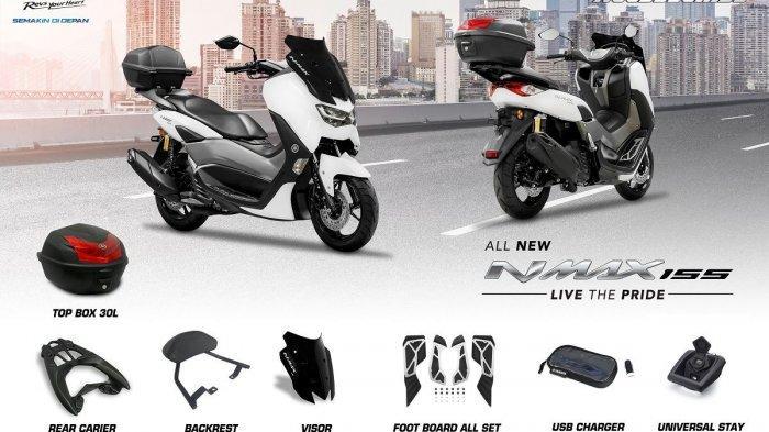 Aksesoris dari Yamaha ini Cocok untuk Konsumen All New NMAX 155 yang Hobi Touring