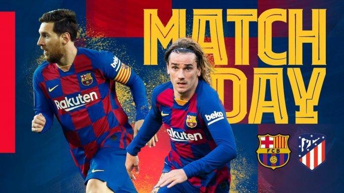 SESAAT LAGI Link Bein Sports1 Barcelona vs Atletico Live Streaming TV Online Liga Spanyol, Ada Messi