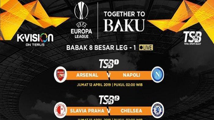 Prediksi Skor Arsenal vs Napoli Jelang Live Streaming RCTI di Liga Europa (Europa League) Malam ini