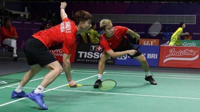 Hasil Semifinal China Open 2018 - Langkah Marcus/Kevin Terhenti di Tangan Han/Zhou