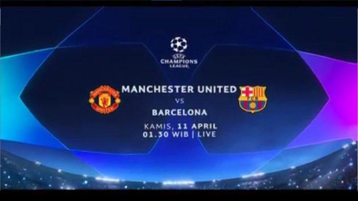 Prediksi Skor Manchester United vs Barcelona Jelang Live Streaming RCTI di Liga Champions Malam ini
