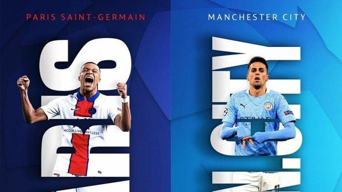 Jadwal Liga Champion Live Streaming SCTV Malam Ini Man City vs PSG, Chelsea vs Real Madrid Lusa