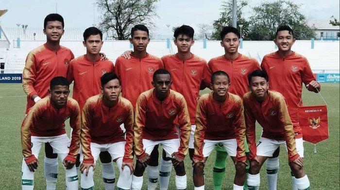 SEDANG BERLANGSUNG! Link Live Streaming SCTV Timnas Indonesia U-15 Vs Myanmar di Piala AFF U-15