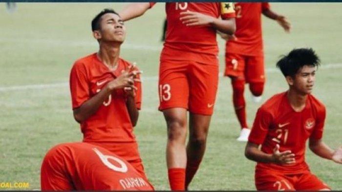 LIVE SCTV! Live Streaming Timnas U-15 Indonesia vs Vietnam Piala AFF U-15 2019 Vidio.com, Juara 3?