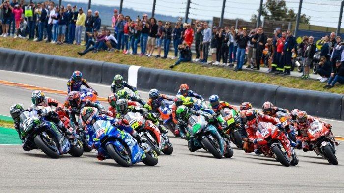 LIVE TRANS 7! Link Live Streaming MotoGP Inggris 2019 Siaran Langsung Trans7, Marquez vs Rossi