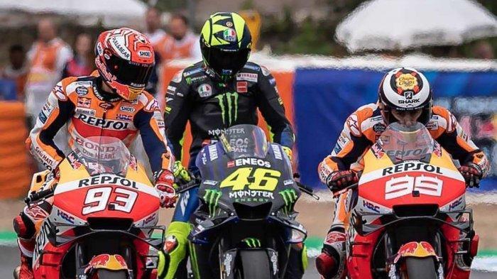 Klasemen MotoGP 2019 & Jadwal MotoGP Ceko 2019 Live Trans 7, Kans Marquez, Rossi & Dovisioso