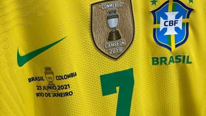 Link Nonton Streaming TV Online Indosiar Live Brazil vs Kolombia Copa America Mulai Jam 07.00 WIB