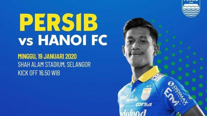 LINK Live Streaming TVOne & Jadwal Persib Bandung vs Hanoi FC di Asia Challenge 2020, Duo Brasil!