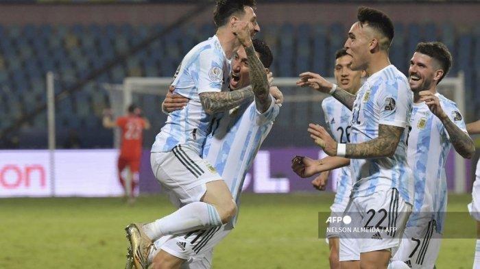 SESAAT LAGI Link TV Online Argentina vs Peru di Kualifikasi Piala Dunia 2022 Messi Main