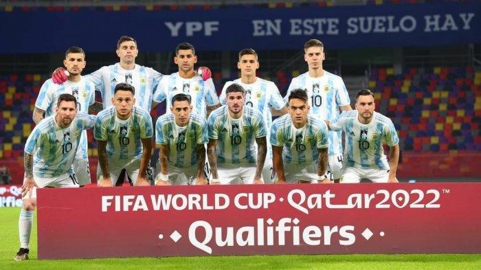 Link Nonton Streaming Kolombia vs Argentina Live Kulifikasi Piala Dunia 2022 Jam 06.00 WIB