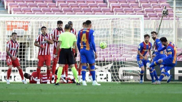 Statistik Sia-sia Barcelona saat Kontra Atletico, Lionel Messi Menderita Sepanjang Laga