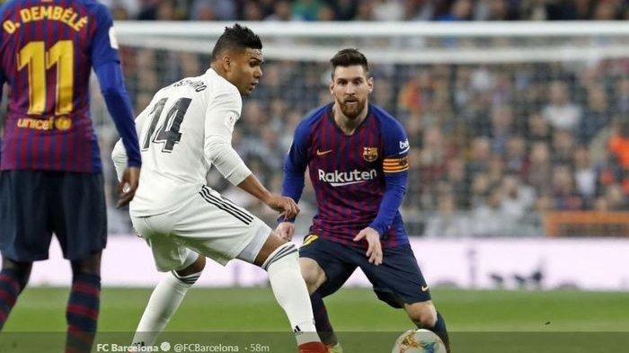 SESAAT LAGI Link Bein Sports 1! Live Streaming Barcelona vs Real Madrid El Clasico Liga Spanyol