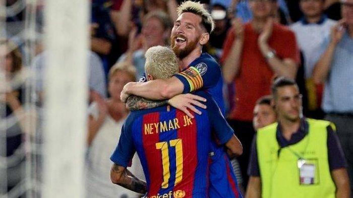Kans Neymar Kembali ke Barcelona Terbuka Lagi, Syaratnya Lionel Messi Bertahan di Camp Nou