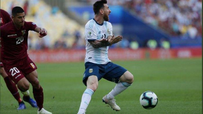 Hasil Copas Americas 2019 Venezuela Vs Argentina, Tim Tango Tantang Brasil di Semifinal