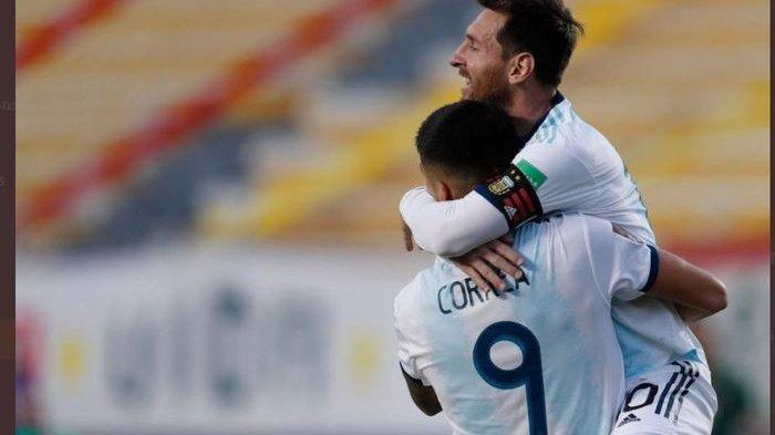 Susunan Pemain Kolombia vs Argentina di Kualifikasi Piala Dunia 2022, Lionel Messi Main