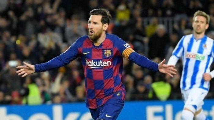 Jadwal Liga Spanyol Ditunda, Lionel Messi Lakukan Ini Selama Pandemi Virus Corona